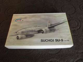 Mpm Kit 172 Scale SUCHOJ SU 9 USSR Fighter Jet