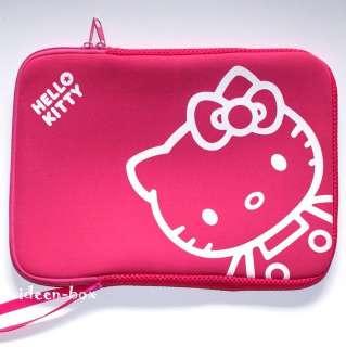 Hello Kitty Netbook Laptop Tasche Softcase 10 Pink