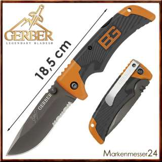 Gerber Bear Grylls Outdoor Messer Einhandmesser NEUHEIT