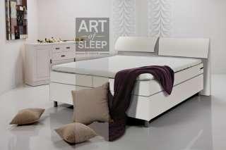 BOXSPRINGBETT AMY Anthrazit Amerikanisches Bett Seniorenbett