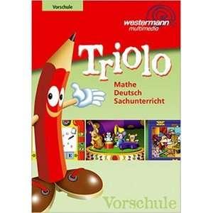 Triolo Vorschule   Lernen mit System Mathe, Deut  Software