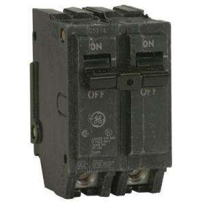 GE Q Line 30 Amp 2 in. Double Pole Circuit Breaker THQL2130 at The