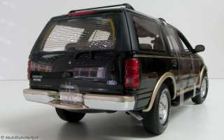 UT MODELS Ford Expedition Eddie Bauer schwarz 118 OVP