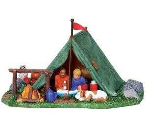 Lemax Village Collection Backyard Camping # 03838 |