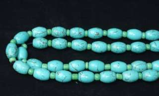 13 Tibet Tibetan Buddhist Turquoise Prayer Beads Mala