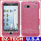 Silver Bling Hard Case Cover T Mobile HTC Vanguard G2