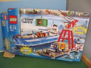 CITY LINES CARGO SHIP BOAT Base Plates LOT Box Instructions