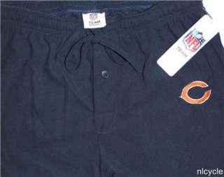 CHICAGO BEARS NFL FLEECE SOFT BLUE PJ LOUNGE PANTS NFL Team Apparel