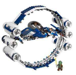 Lego Star Wars Jedi Starfighter mit Hyperdrive Booster Ring 7661