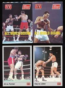 1991 All World Boxing PROMOS Muhammad Ali George Foreman Clay Sonny