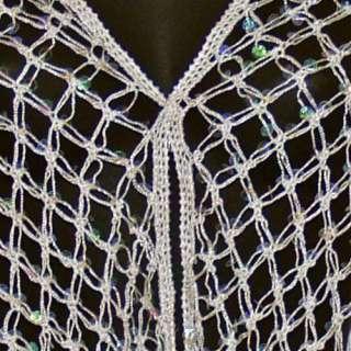 New Kirks Folly DreamKeeper Shawl Summer Breeze Sequin