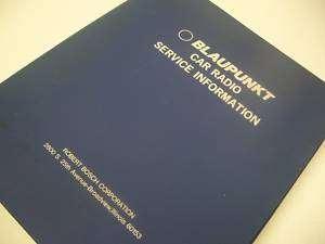 HUGE BLAUPUNKT CAR RADIO SERVICE MANUAL CD
