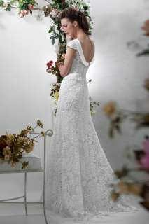 New style Fairy 2012 Latest Designed Lace beaded Wedding Dress