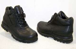 Nike Air Max Goadome ACG Waterproof Leather Boots Black Mens Size 11