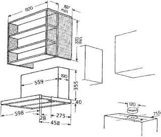 bosch dhi635hx abluft umluft dunstabzugshaube elektro. Black Bedroom Furniture Sets. Home Design Ideas