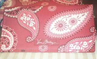 Vera Bradley Checkbook Cover Mesa Red NWT