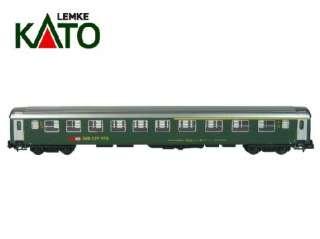 Kato 23113 Personenwagen SBB Abteilwagen 1./2. Kl. grün neues Logo