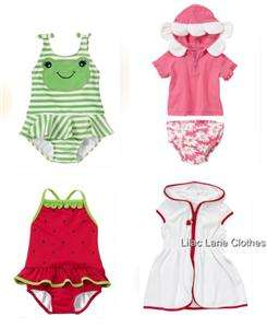 Gymboree Girls Bathing Suit or Cover Up You Pick NWT