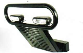 Club Car Precedent Bumper Brush Guard Front Lights kit