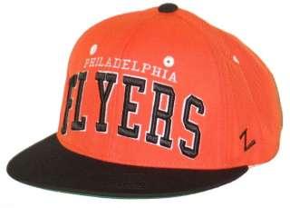 PHILADELPHIA FLYERS VINTAGE NHL HOCKEY ORANGE SUPER STAR SNAPBACK HAT