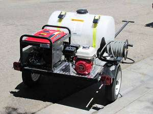 Washing Trailer Rig Hot Or Cold Pressure Washer Cleaning