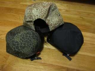 Supreme Box Logo Safari Giraffe Camo Camp Cap Hat Donegal Leopard Kate