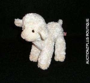 DOUGLAS CUDDLE TOY CHAMOIS LAMB SHEEP BEAN PLUSH LOVEY