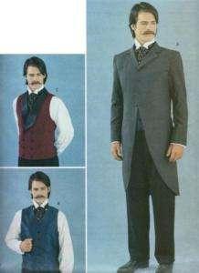 Mens Victorian PATTERN Tail Coat/Suit/Vest/Waistcoat