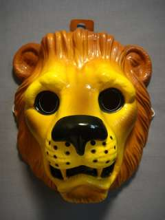 LION SAFARI JUNGLE ZOO ANIMAL HALLOWEEN MASK PVC NEW