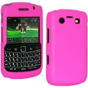 High Quality New Amzer Rubberized Hot Pink Snap Crystal