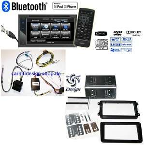VW GOLF 6 TOURAN Monitor Radio + LENKRAD FERNBEDIENUNG