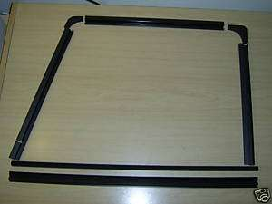 DEFENDER FRONT DOOR WINDOW CHANNELS & FILLERS (GENUINE)