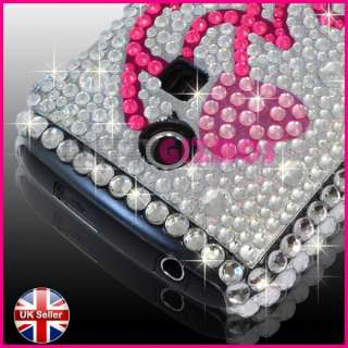 DIAMOND BLING CRYSTAL GLITTER GEM CASE COVER FOR SAMSUNG CHAT CH@T335
