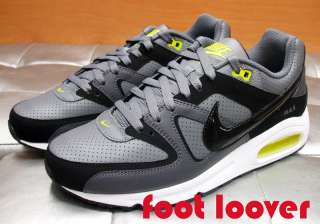 Scarpe Nike Air Max Command Leather 409998 014 running uomo graphite