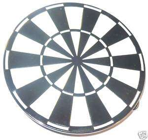 DART BOARD BELT BUCKLE EMO GOTHIC ROCK PUNK