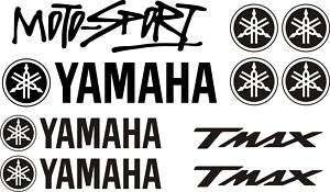 PEGATINA VINILO STICKER MOTO Yamaha Tmax motosport