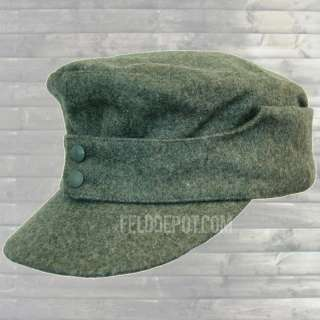 Reproduction army and elite field cap M43 in WW2 Enlisted men and NCO