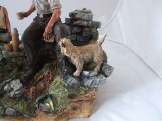 Border Fine Arts Sculpture Thirsty Work Limited Edition
