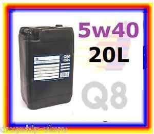 5W 40 Q8 HUILE MOTEUR EXCEL HAUTE PERFORMANCE 20L