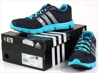 Adidas Breeze M Navy/Metallic Silver/Blue Running 2012 Mens 3 Stripes