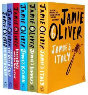 Jamie Oliver 6 Books Series Collection Gift Set  Jamie