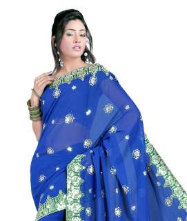 bollywood indien Sari Saree ROBE Stoff ventre danse abaya