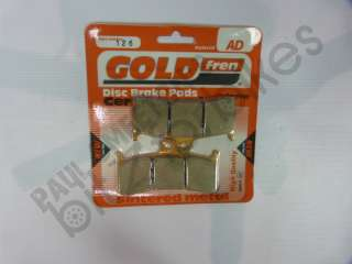 Yamaha YZF R7 750 OWO2(Race Version 99 01)Goldfren Sintered Front