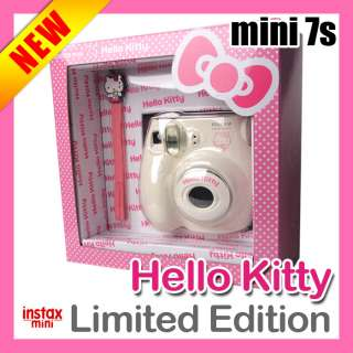 Fuji INSTAX Mini 7s Camera White HELLO KITTY ★★★