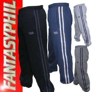 Bas pantalon jogging sport survêtement homme neuf Lonsdale S,M