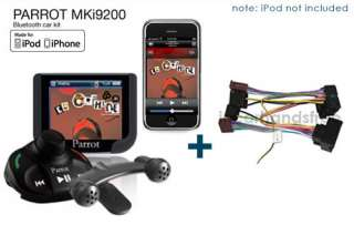 Parrot MKi9200 Music Bluetooth Car Kit + BMW SOT 076/Kram 86111