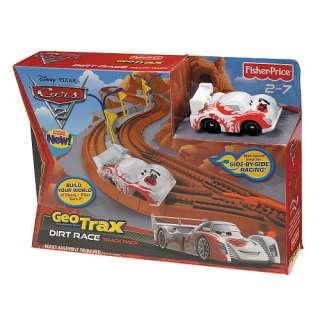 Geo Trax Disney Pixar Cars 2 Track Pack   Dirt Race   Fisher Price