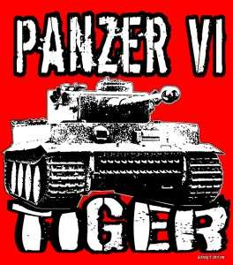 TIGER RC TANK WWII PANZER SS GERMAN ARMY D DAY T SHIRT