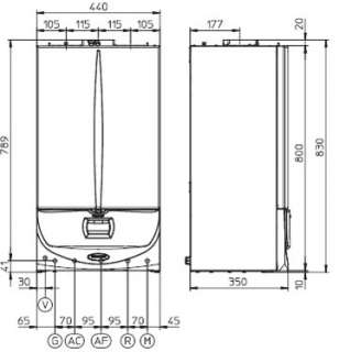 mm larghezza mm profondita mm diametro asp scarico mm eolo superior 24
