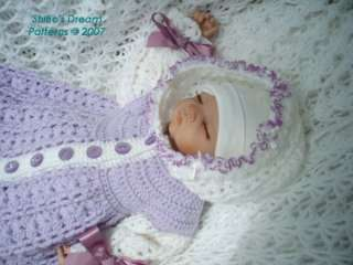 Crochet Patterns For Baby Sweater Sets : BABY PATTERN SACK SLEEP Free Baby Patterns